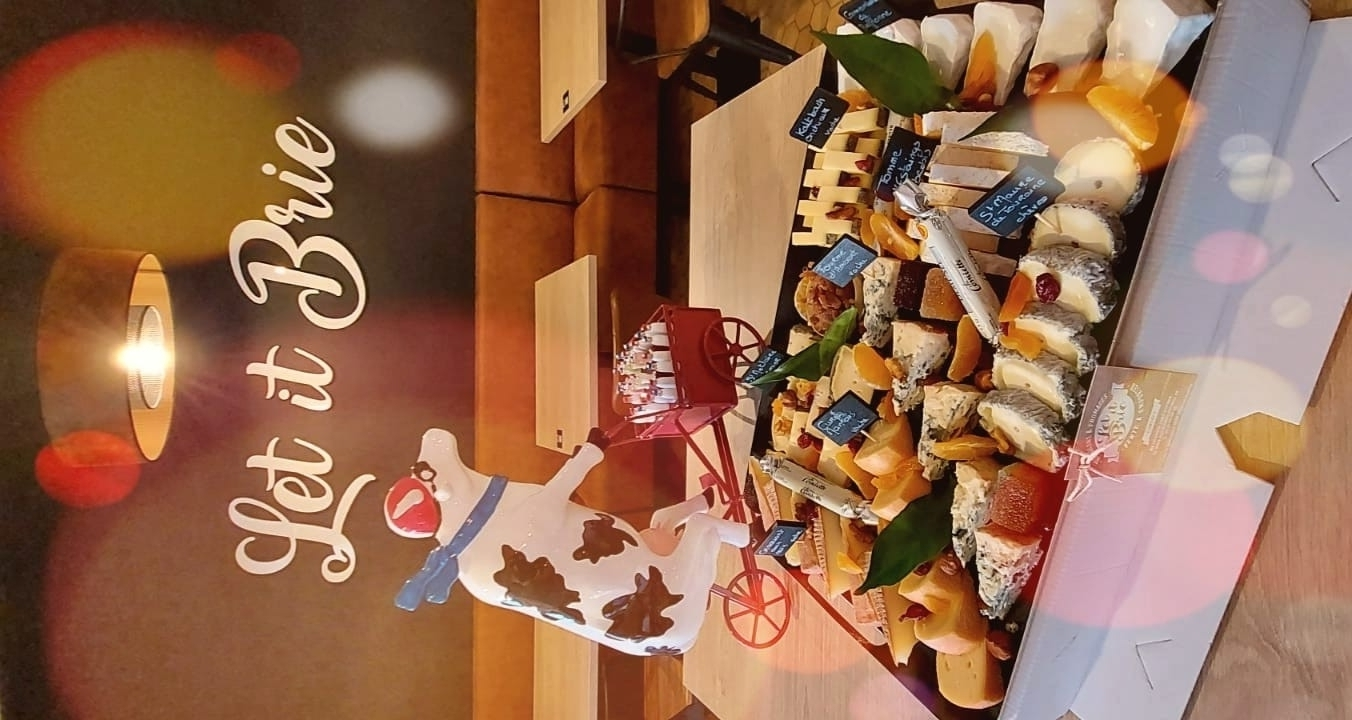 Plateaux fromages Noël